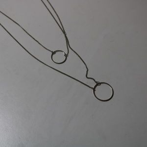 Jewelry - double circle necklace